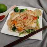 Pad Thai close up