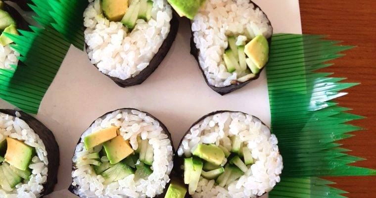 Sushi Rolls All-You-Can-Eat  Made Under $5!