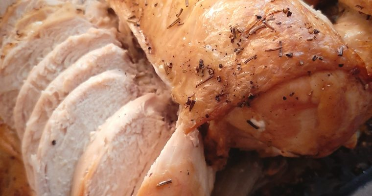 No-Fail Roasted Chicken⁠ OR Turkey
