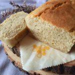 Lie-infused mung bean bread loaf