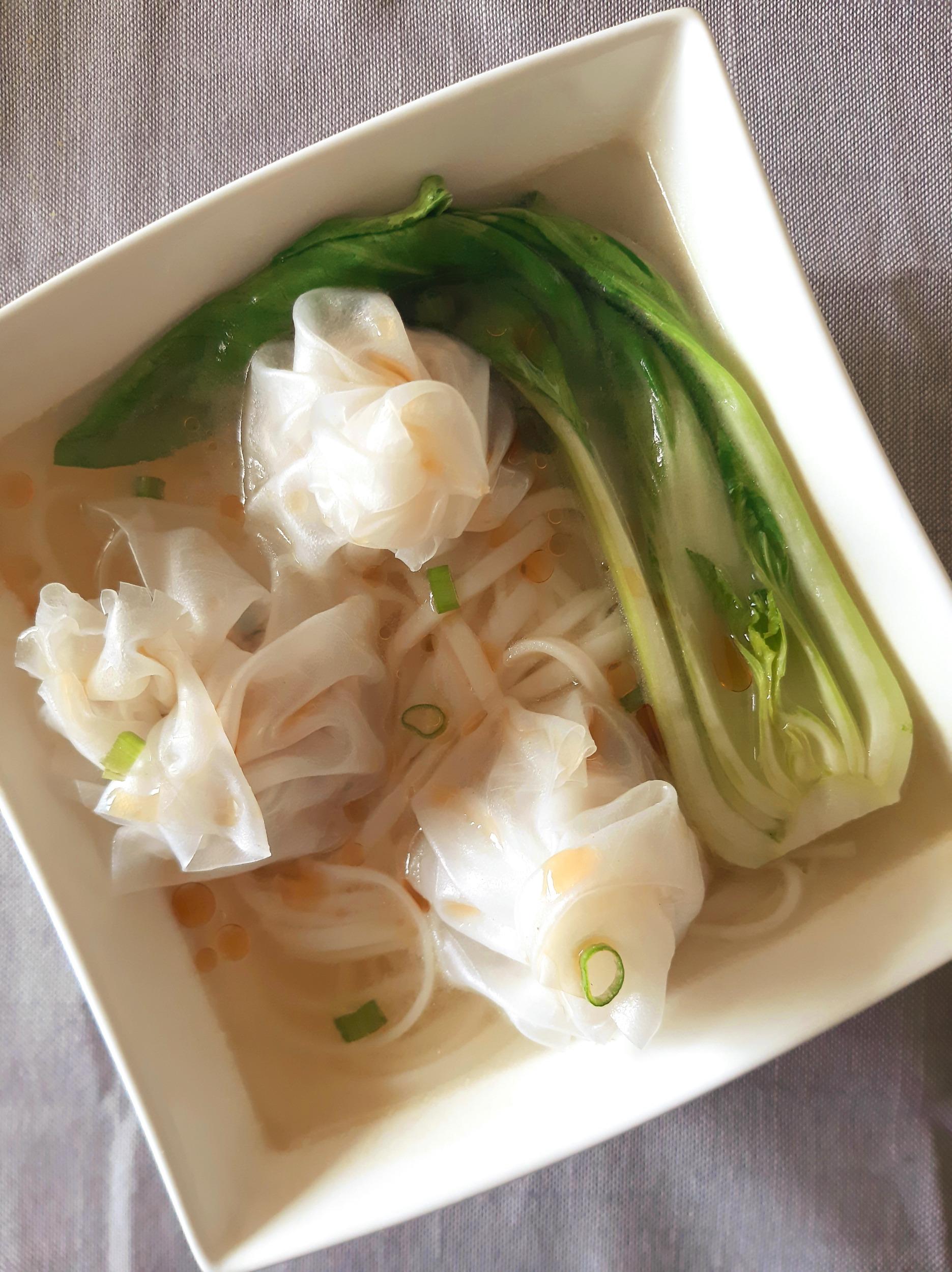 Gluten-free Wontons, silky thin Cantonese style!