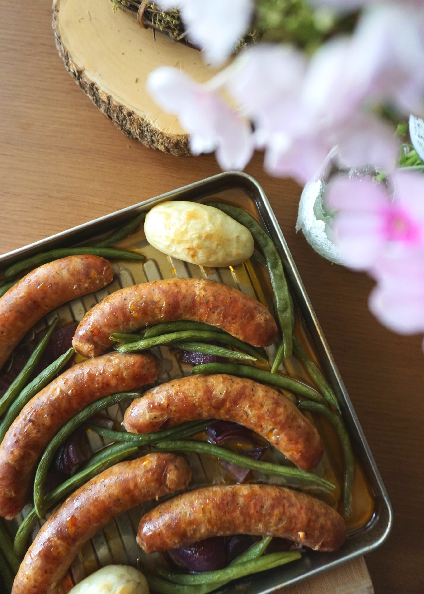Sausage Sheet-pan Dinner + Meal-prep