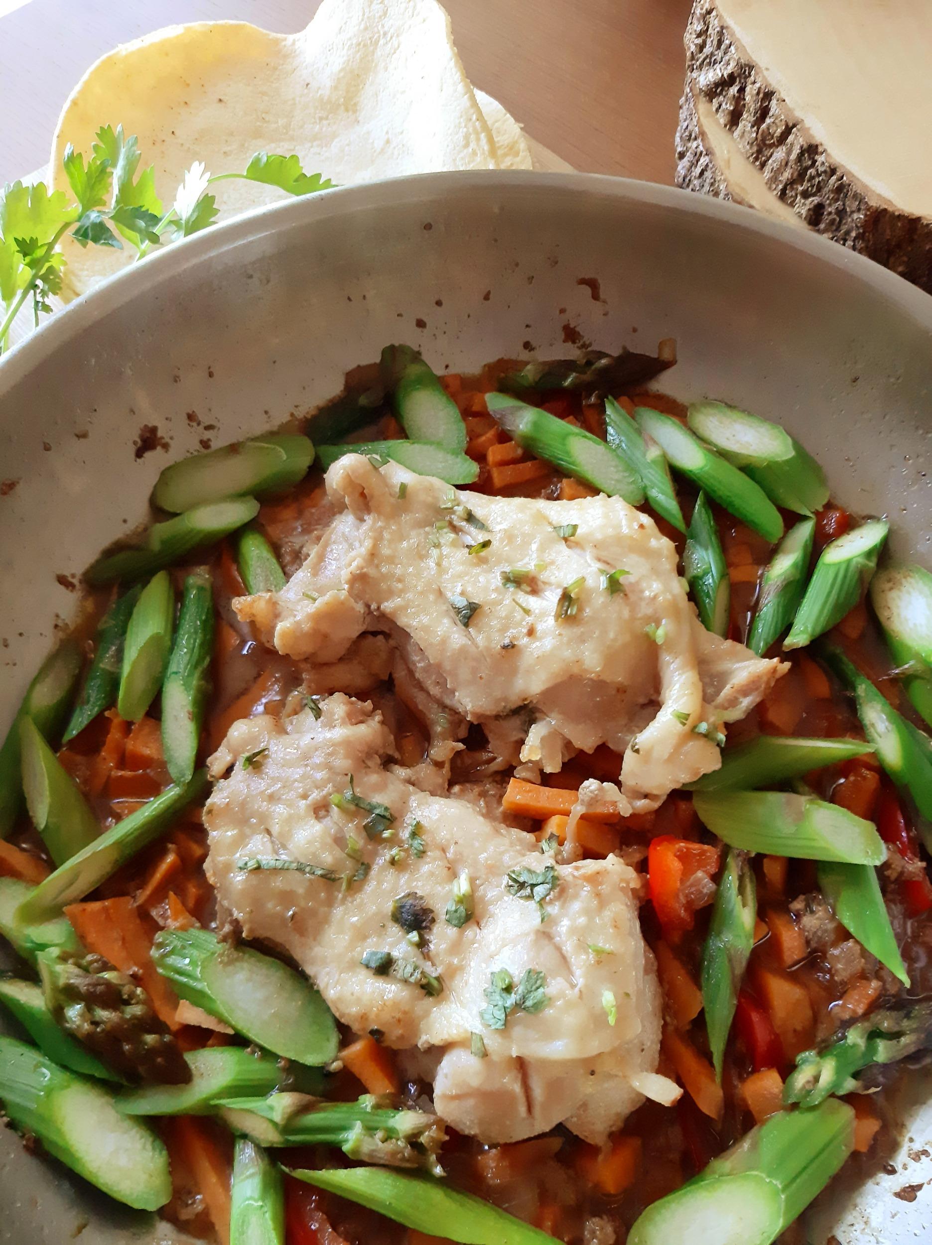 Skillet Chicken Tacos – easy as 1, 2, 3!