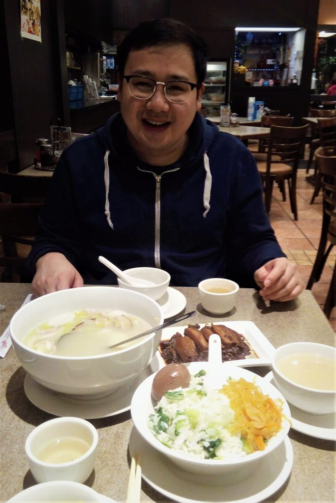 Shanghainese meal